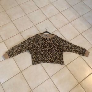 Sweaters - Leopard sweater XL